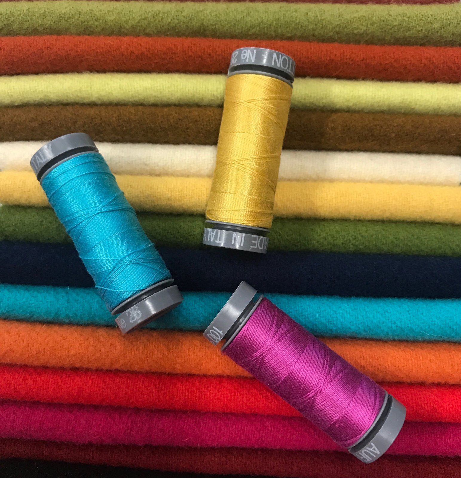 SOLD OUT Colour Me Happy Wool & Thread Club