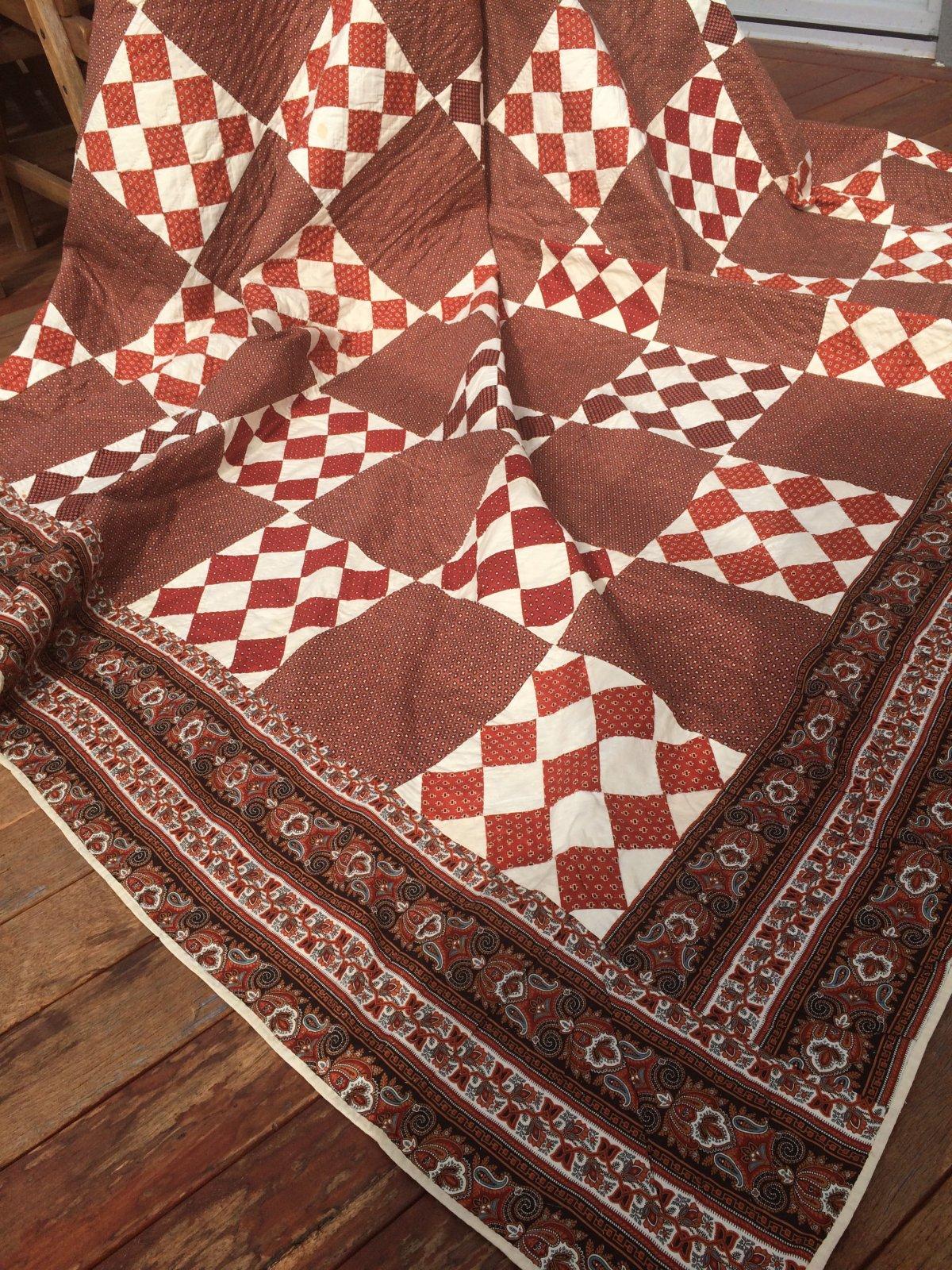 1850's Antique Quilt