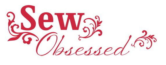 Lilly Belle Signs -Sew Obsessed Red