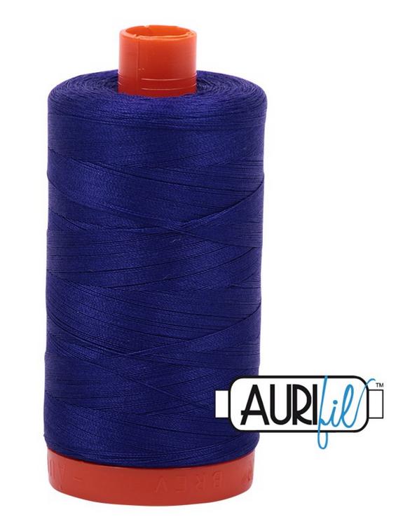 Cotton Mako: Solid 50 wt - 1422 yds Blue Violet 1200
