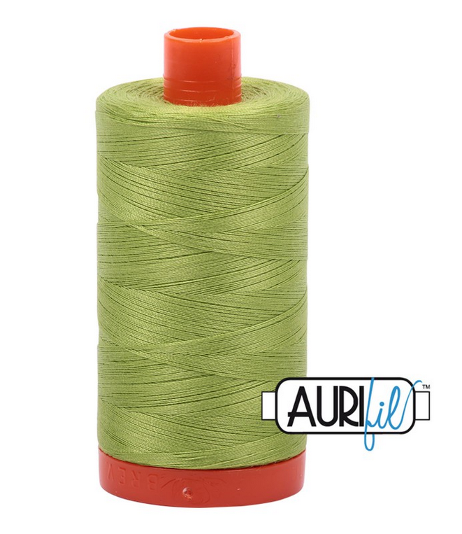 Cotton Mako: Solid 50 wt - 1422 yds Spring Green 1231