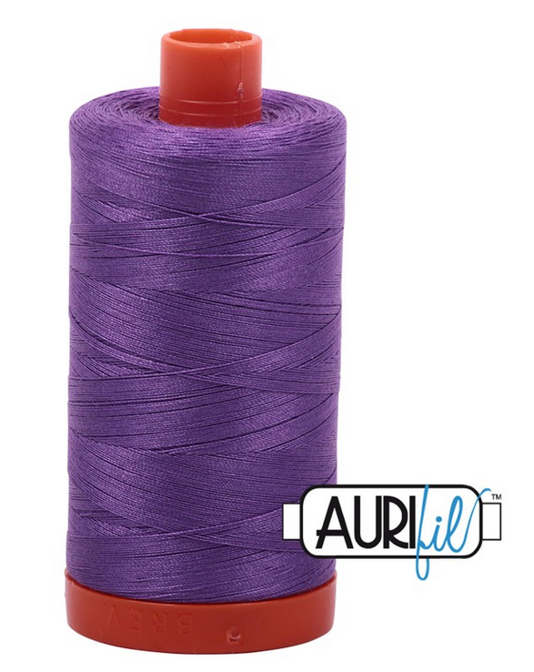 Cotton Mako: Solid 50 wt - 1422 yds Medium Lavender 2540