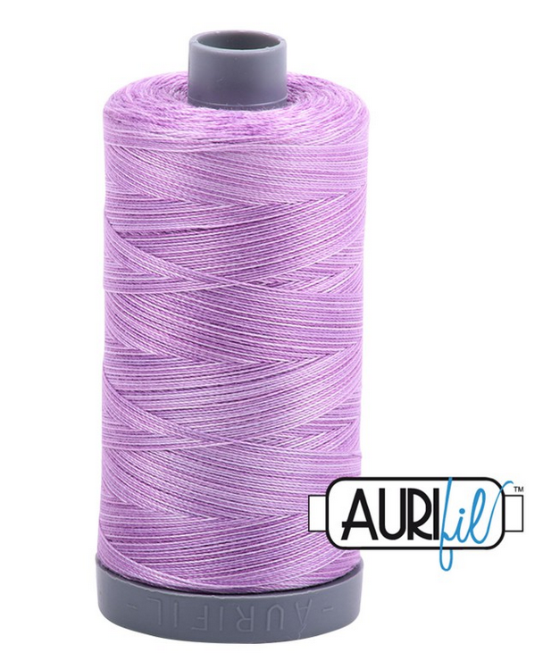 Cotton Mako: Variegated 28 wt - 820 yds French Lilac