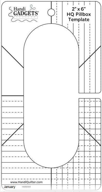 2x6 pillbox template