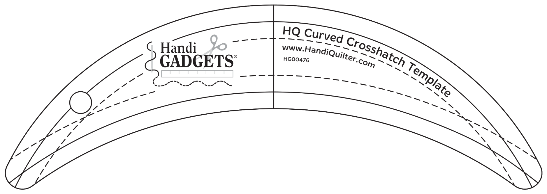HQ Curved Crosshatch