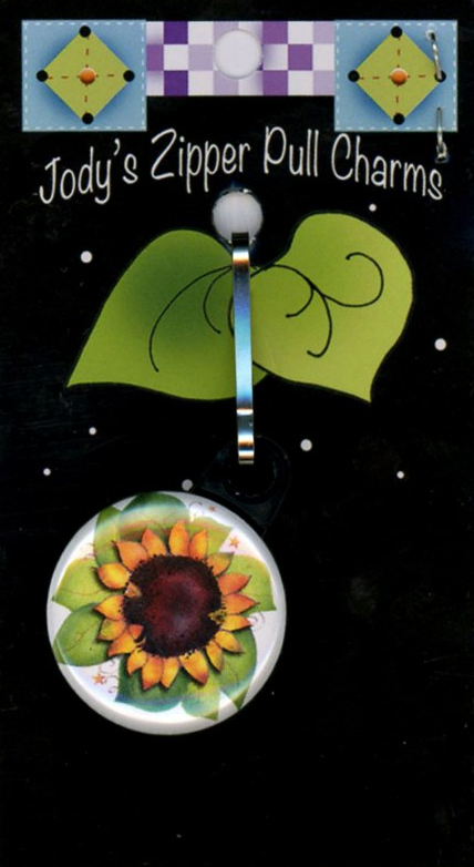 Zipper Pull SunFlower