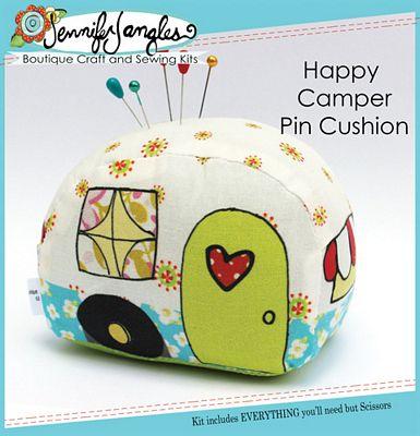 Happy Camper Pin Cushion Needlecraft Kit