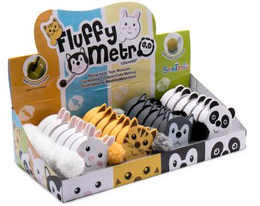 Fluffy Tail Tape Measures (Random)