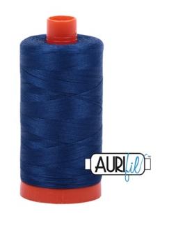 Aurifil Cotton 2780 40wt 1422 yds Dk Delft Blue