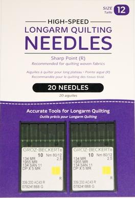 High-Speed Longarm Needles - Crank 80/12 134 MR-2.5