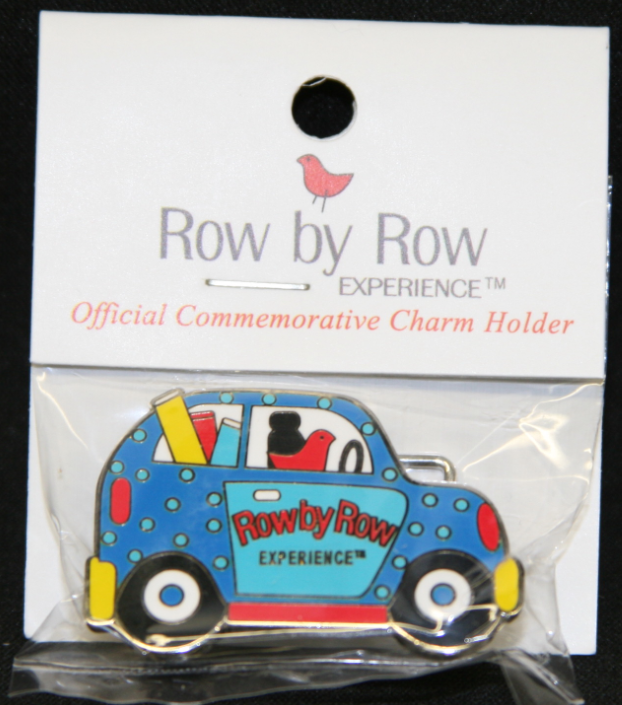 Row by Row Charm Holder