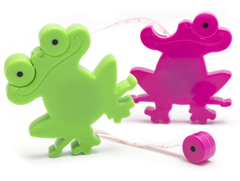 Jumpy Frog Tape Measures 40in