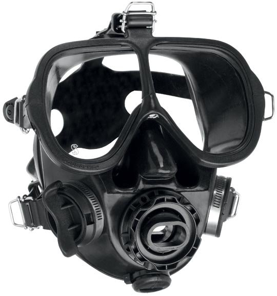 Full Face Mask w/QD and Bag