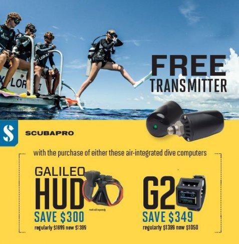 Scubapro G2 free transmitter