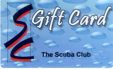 Scuba Club Gift Card