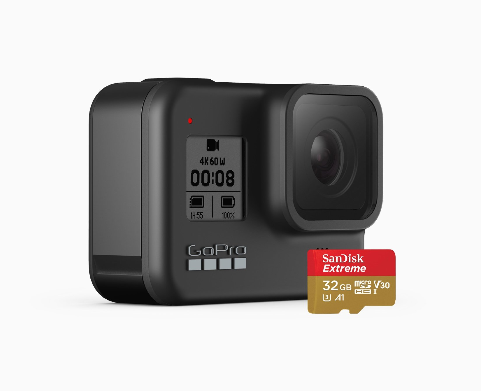 GoPro HERO8 Black w/ Free SD Card