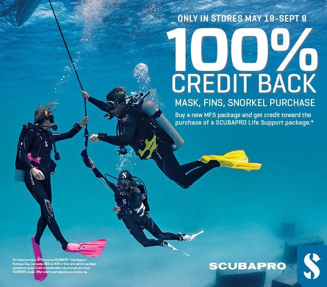 Scubapro free mask, fins & snorkel