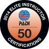 PADI Elite Instructor 2014