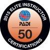 PADI Elite Instructor 2015