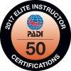 PADI Elite Instructor 2017