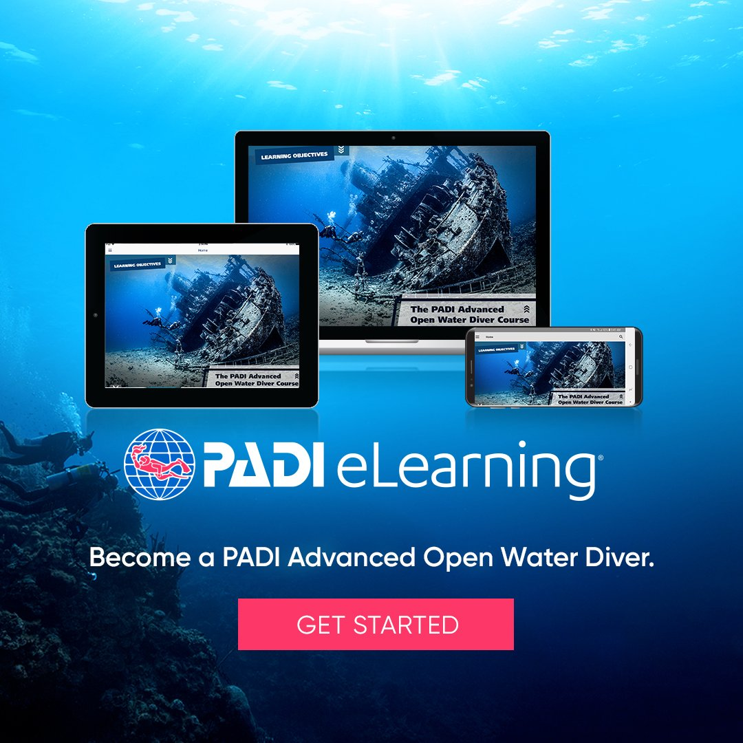 PADI Advance Open Water eLearning