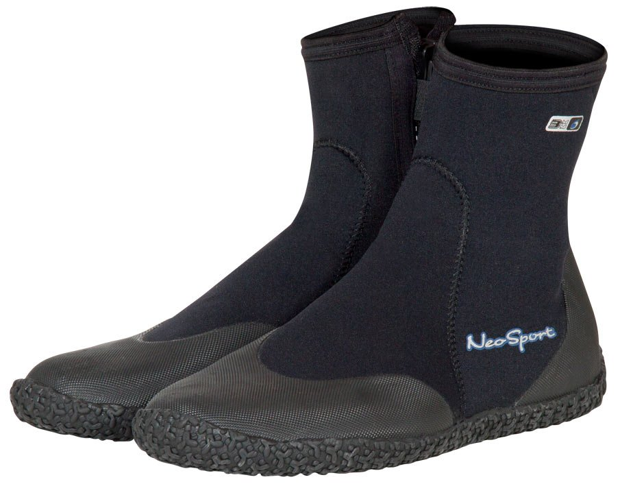 5mm Hi Top Zippered Boot
