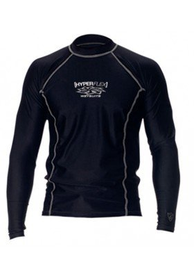 Hyperflex LS UV Shirt Black