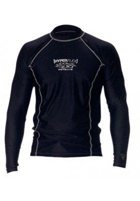 Hyperflex LS UV Shirt Black