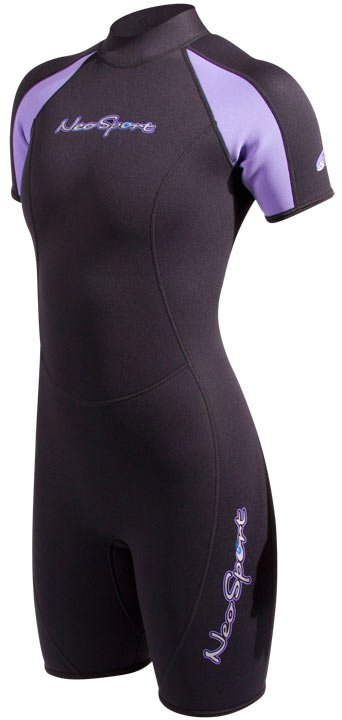 Neosport 2mm Shorty Purple Ladies
