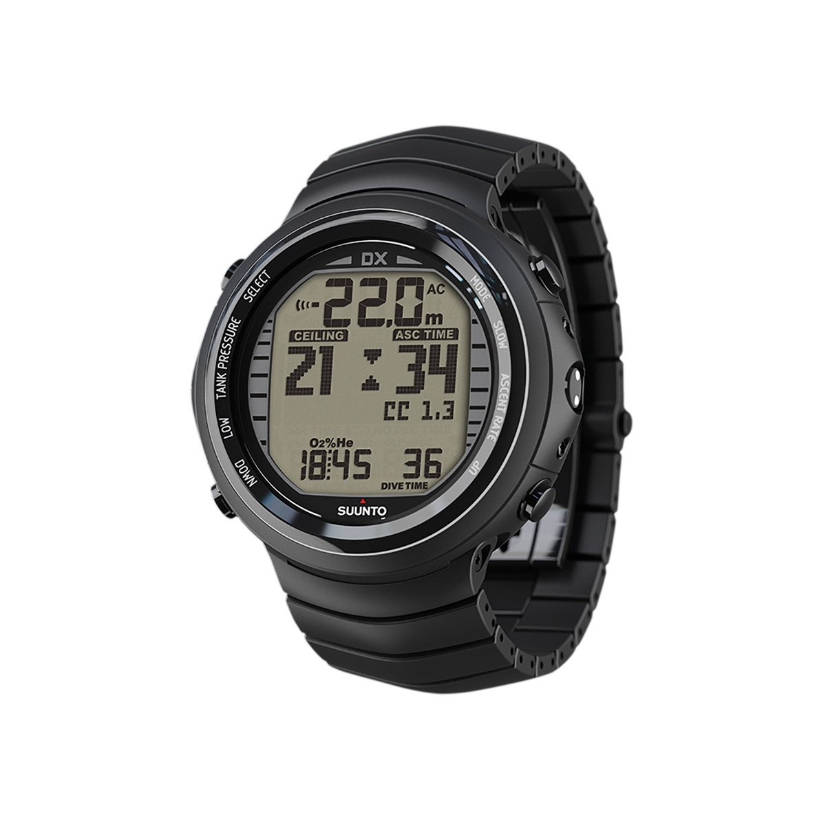 Suunto DX BLACK TITANIUM WITH USB