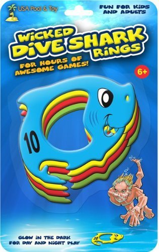 Wicked Dive Shark Rings