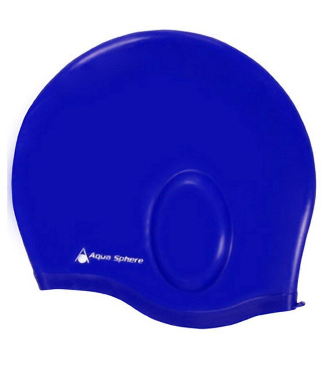 Aqua Glide Swim Cap Blue