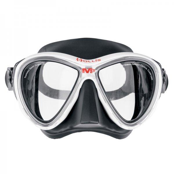 Mask, M-3, Hollis, WHT/CLR