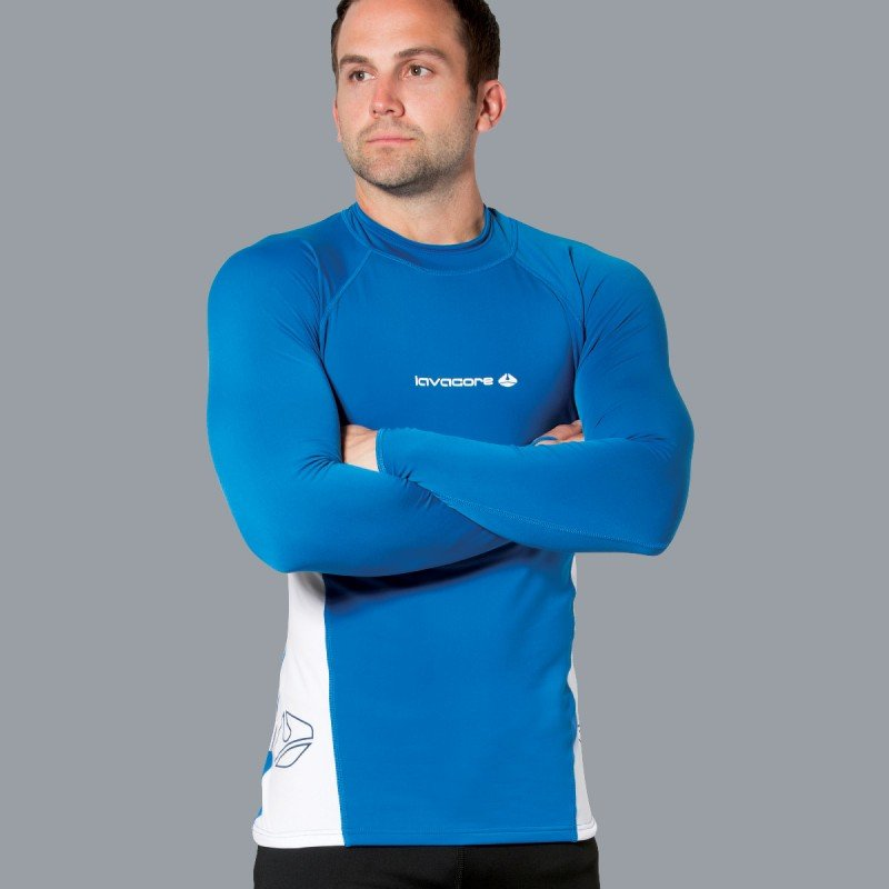 Lavaskin L/S Shirt Male, NV/WH, XL