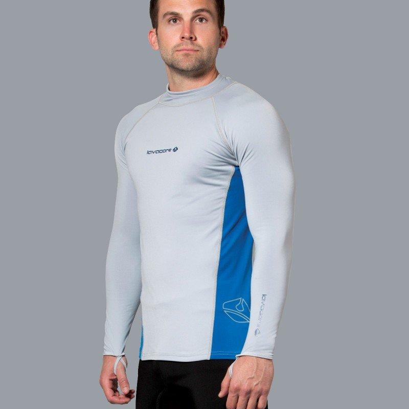 Lavaskin L/S Shirt Male, GY/NV, XL