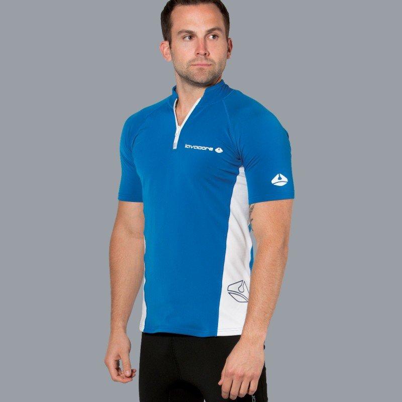 Lavaskin S/S Shirt Male, NV/WH, LG