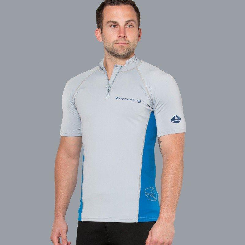 Lavaskin S/S Shirt Male, GY/NV, LG