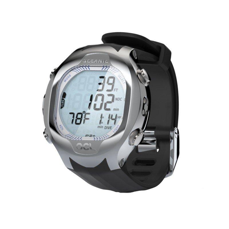OCL Wristwatch, black/blue, w/o USB