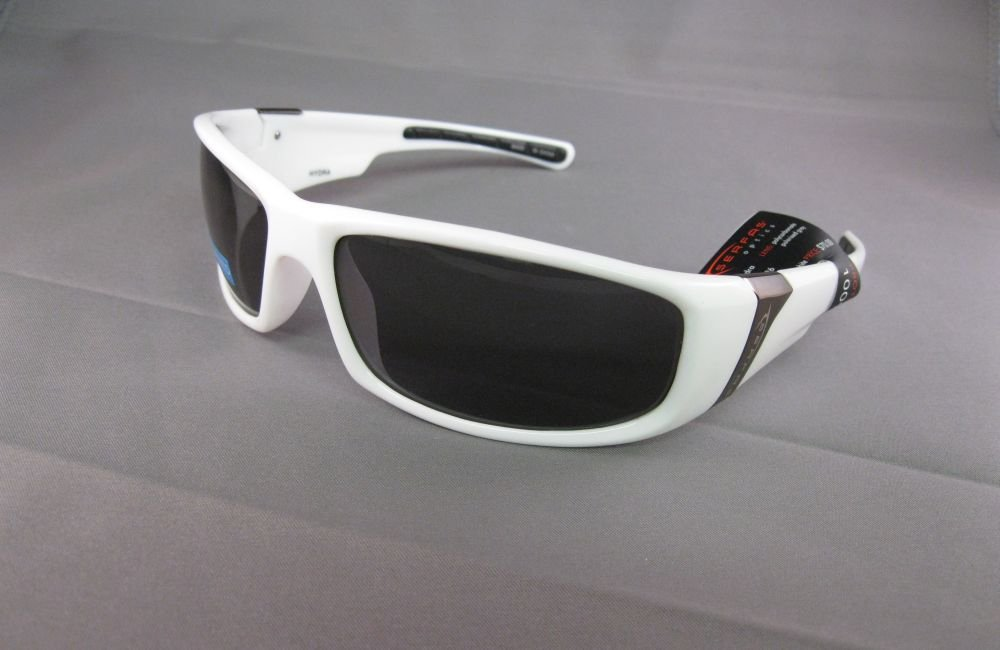 SERFAS,Hand Polished White Sunglasses
