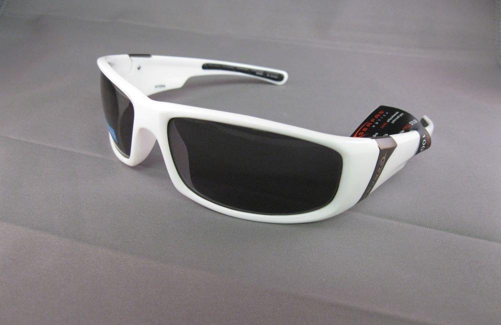 SERFAS,Hand Polished White Sunglasses