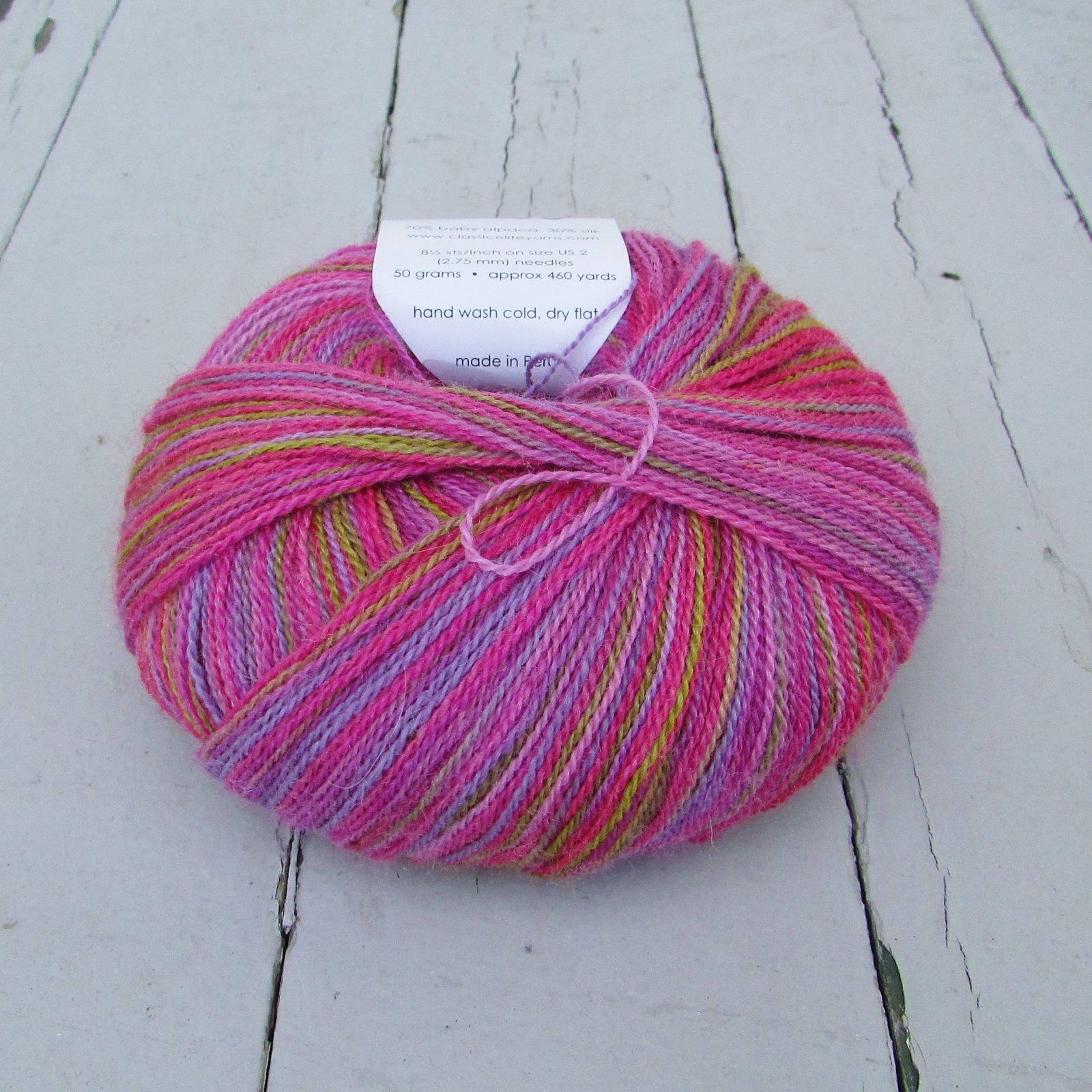 Classic Elite Yarns Silky Alpaca Lace Handpaint