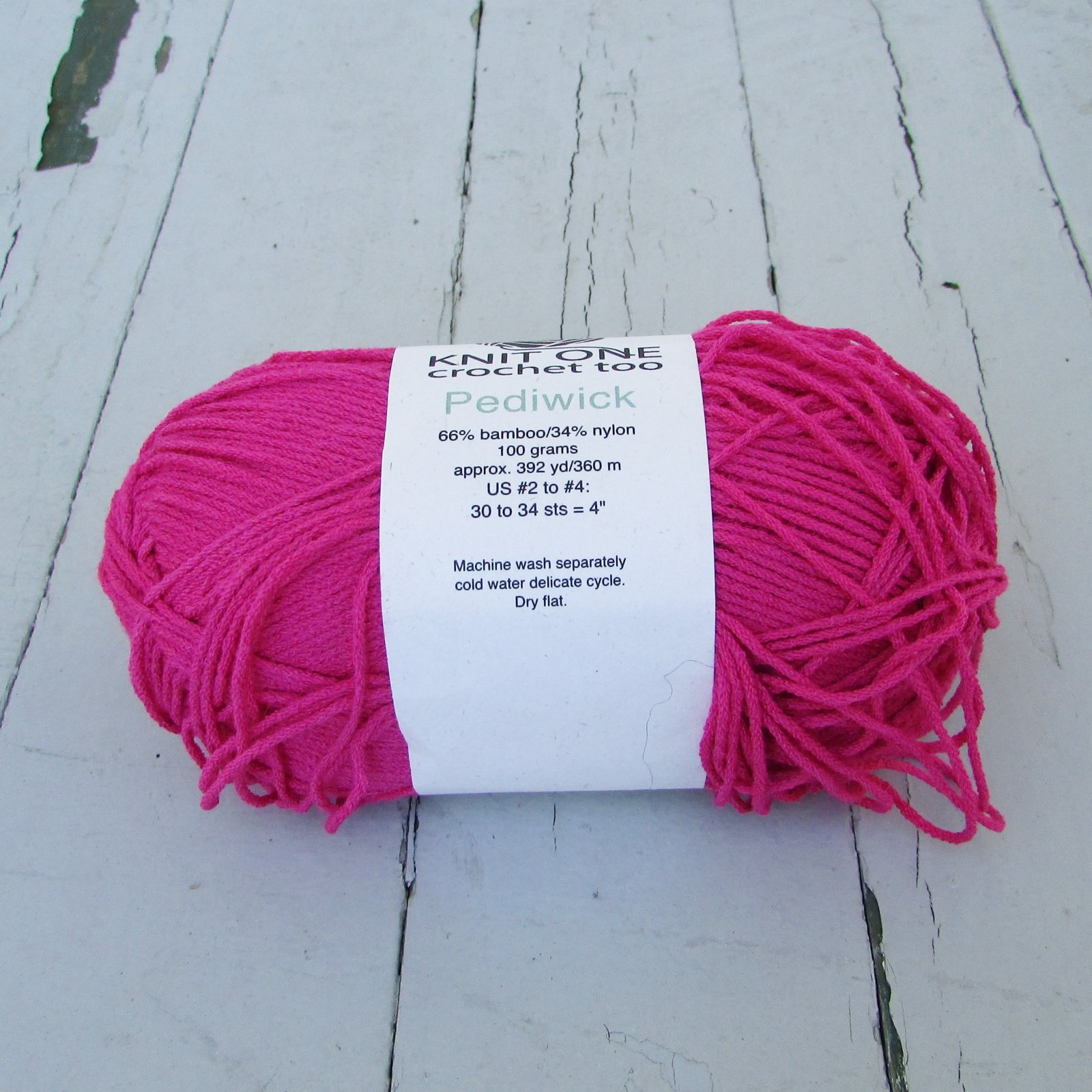 Knit One Crochet Too Pediwick