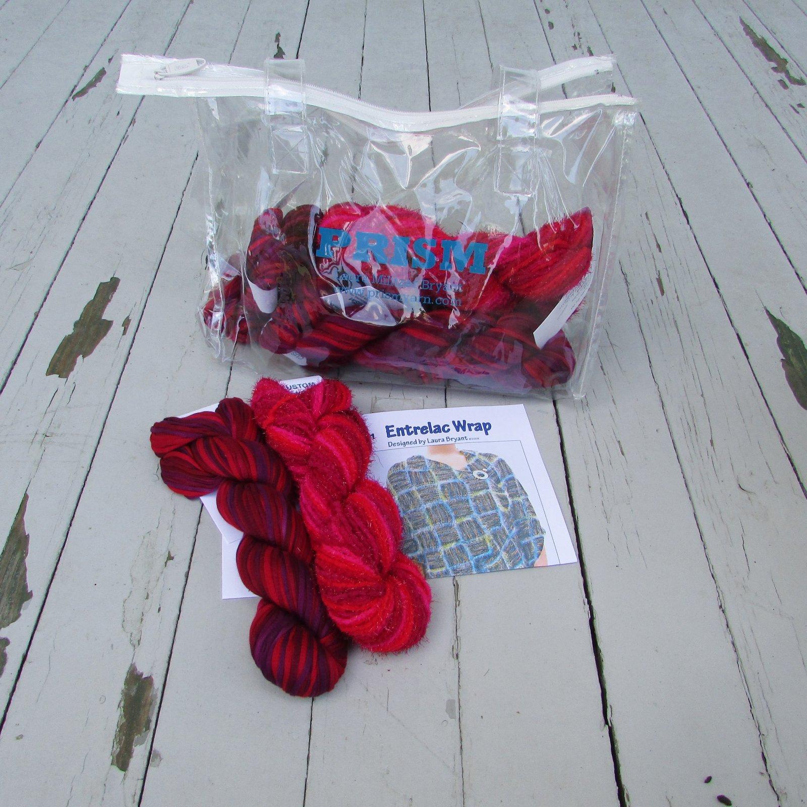 Prism Entrelac Wrap Kit