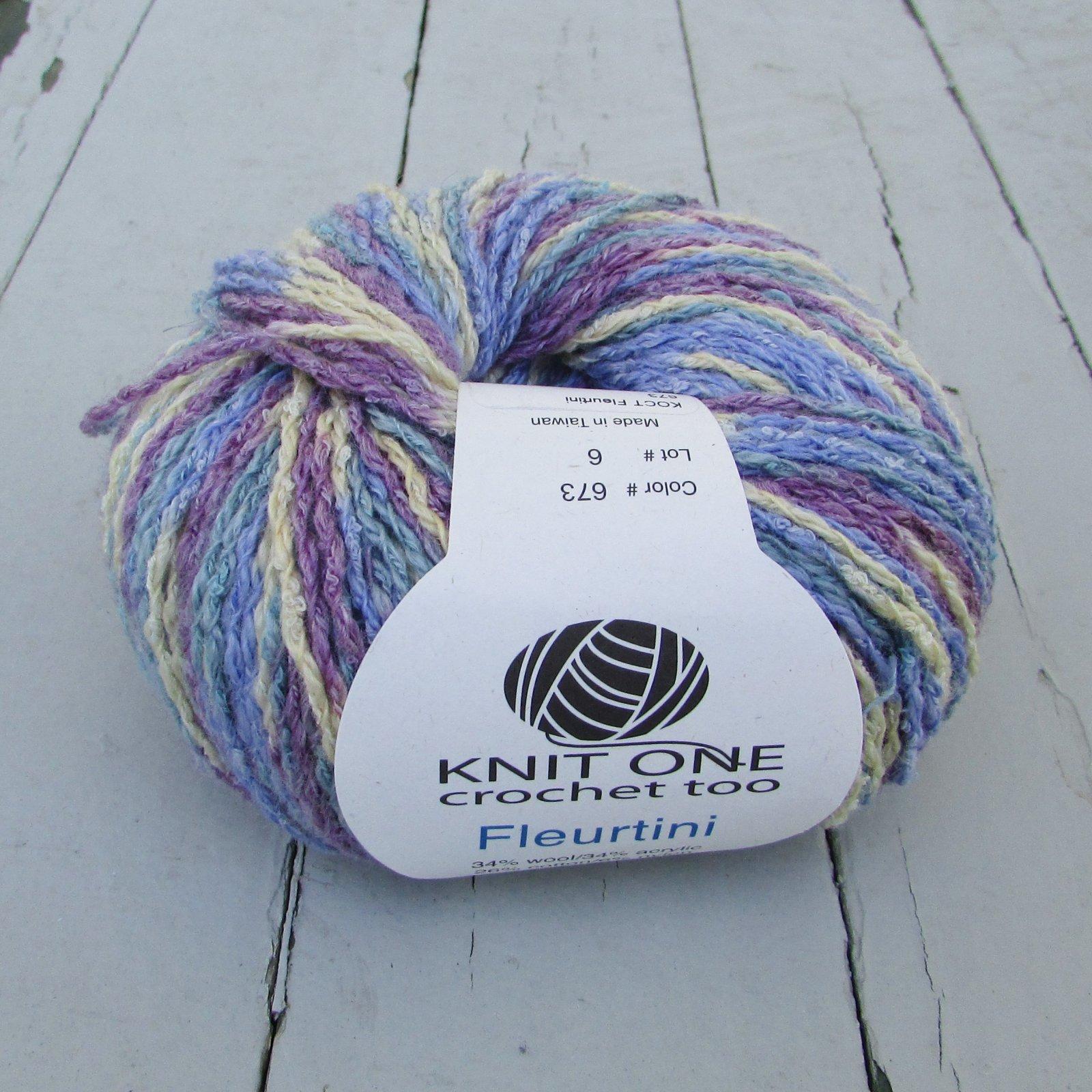 Knit One Crochet Too Fleurtini