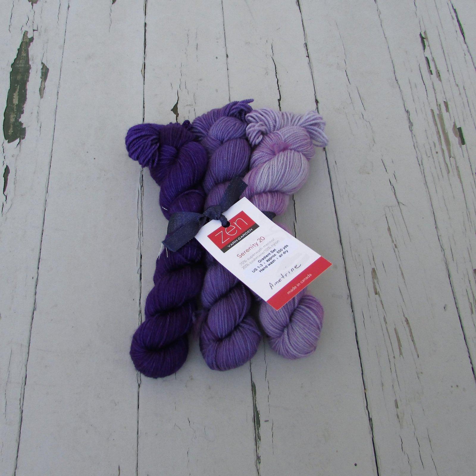Zen Yarn Garden Serenity 20 Gradient Set