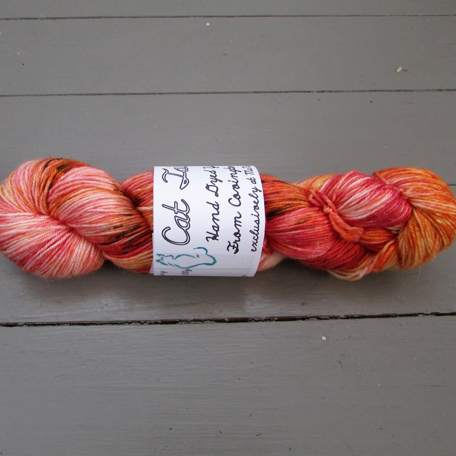 Cat Tails Merino/Silk Fingering