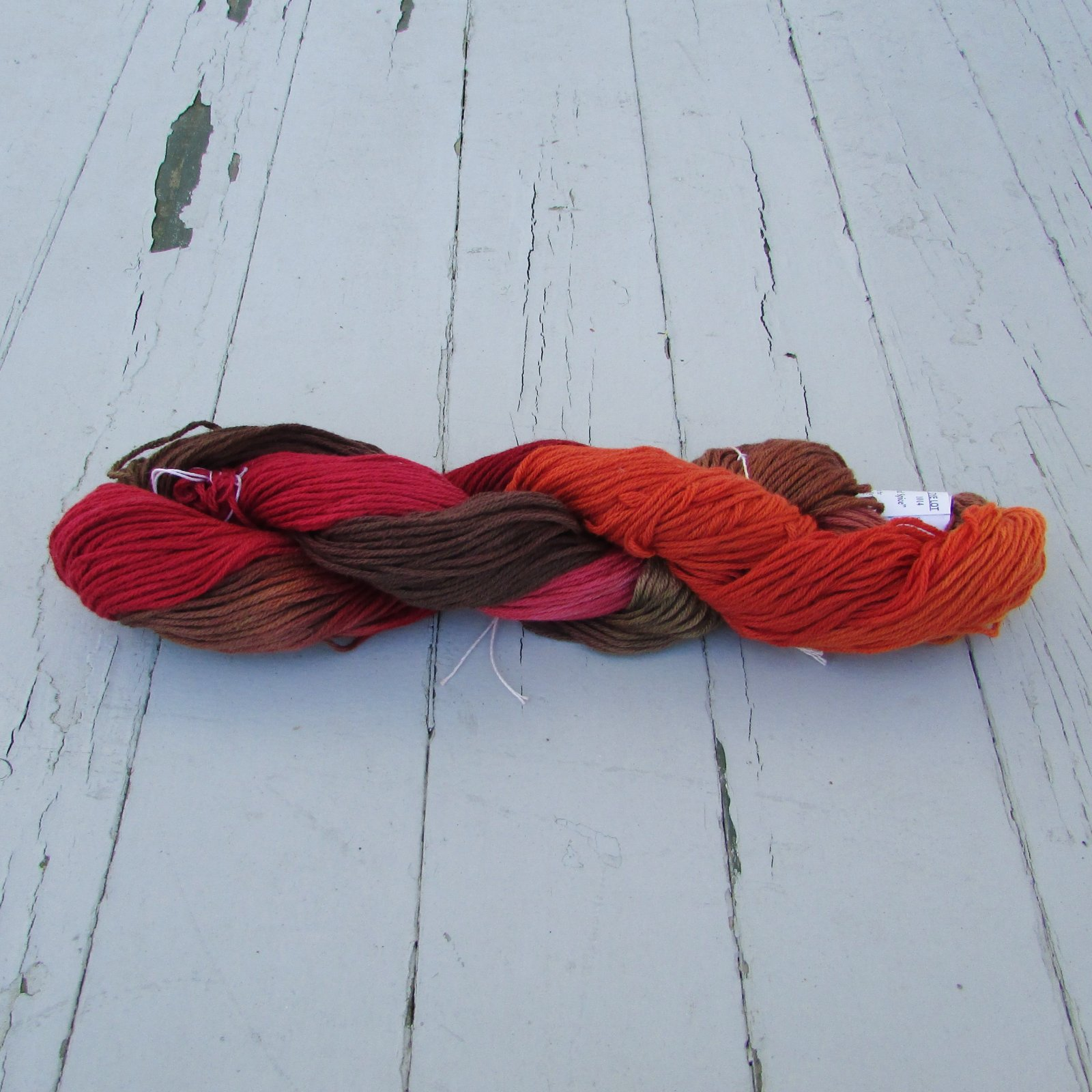 Lotus Autumn Wind Hand Dyed