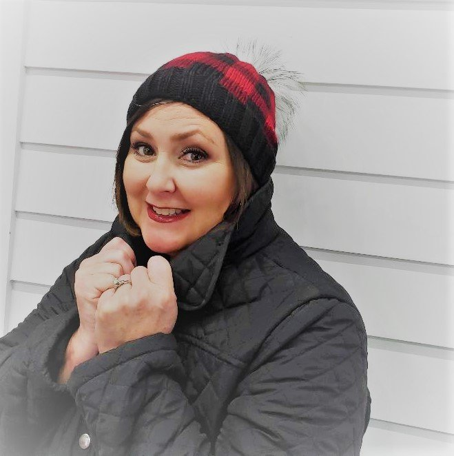 Brew City Yarns Buffalo Plaid Hat Kit
