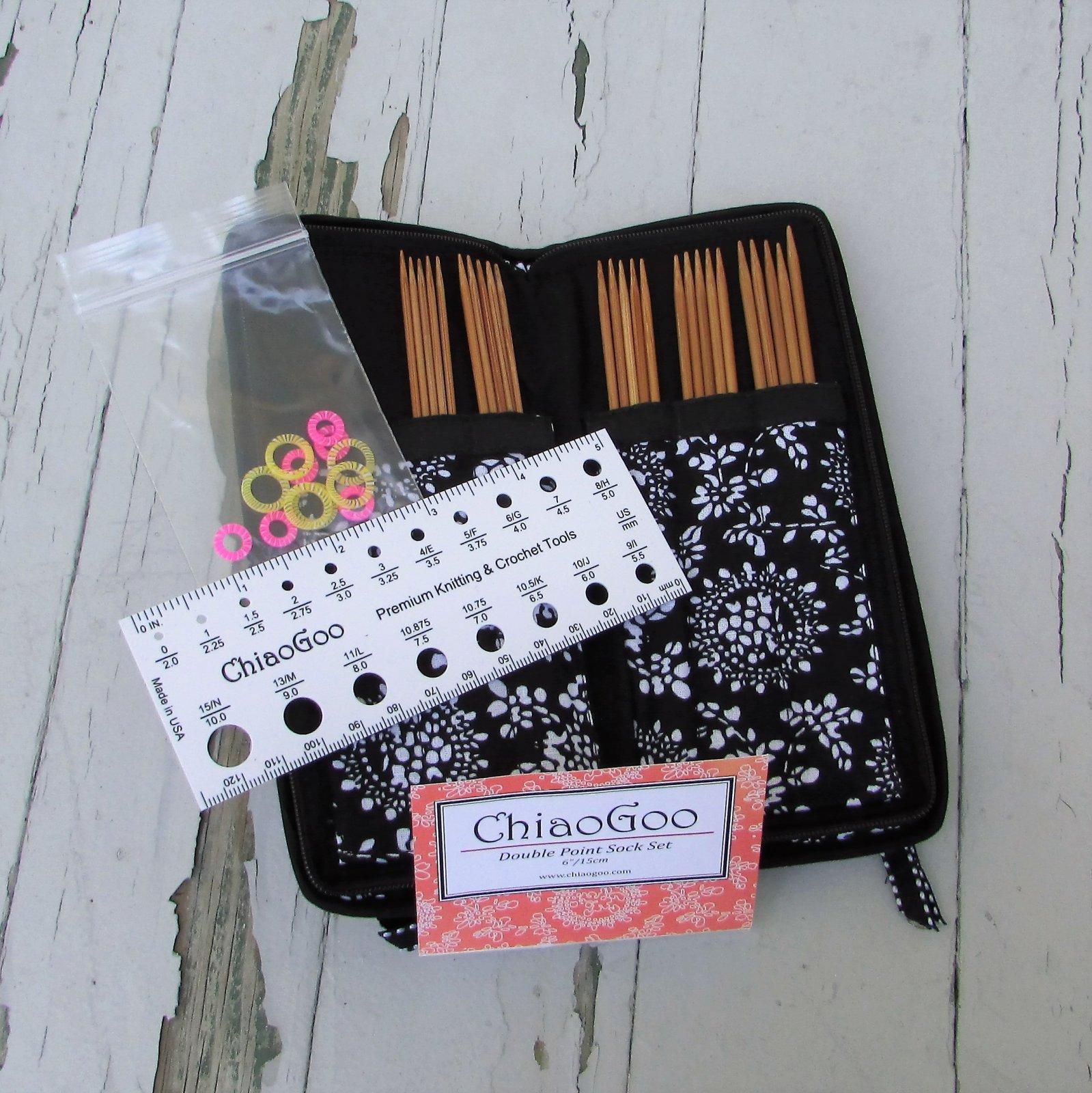 ChiaoGoo DPN Set Bamboo