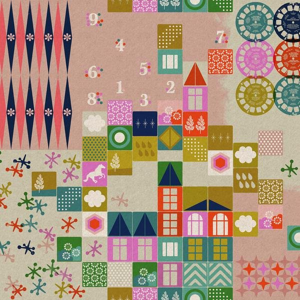 Cotton & Steel - Melody Miller - Playful - Playroom - Cotton/ Linen Canvas